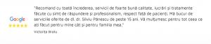 Testimonial BestDent - Victorita Bratu - Google